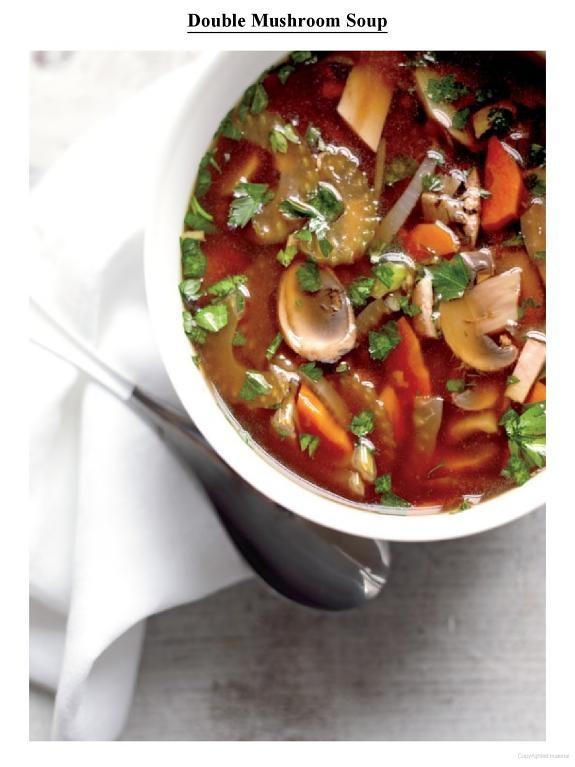 Double Mushroom Soup | Bon Appetit | Pinterest