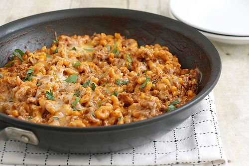 Cheesy Chili Mac | Tracey's Culinary Adventures/ didn't like it he di...