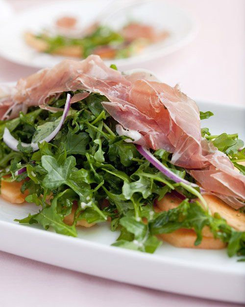 Cantaloupe, Prosciutto, and Arugula Salad | Recipe
