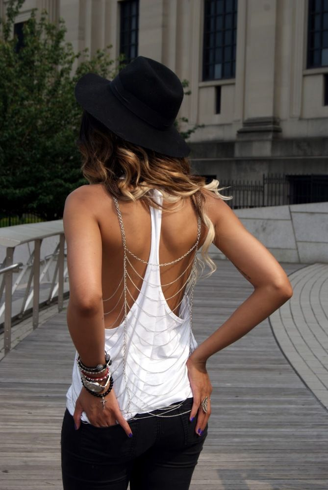 Summer Show Off: Backless & Low Back Styles