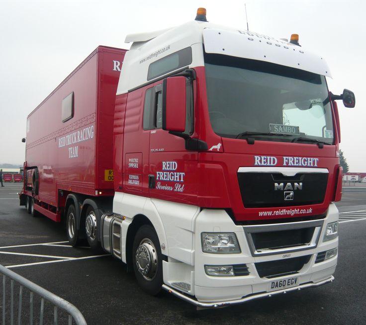 MAN TGX Reid Transport truck racing - Snetterton 2013Cool Race Trucks