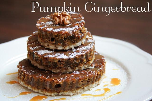 pumpkin gingerbread | Fall | Pinterest