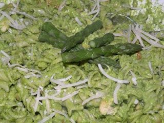 Asparagus & Spinach Pesto Pasta... | Trying to be Healthy | Pinterest