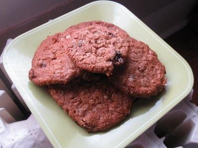 gluten-free-vegan-oatmeal-raisin cookies | a healthier way to eat ...