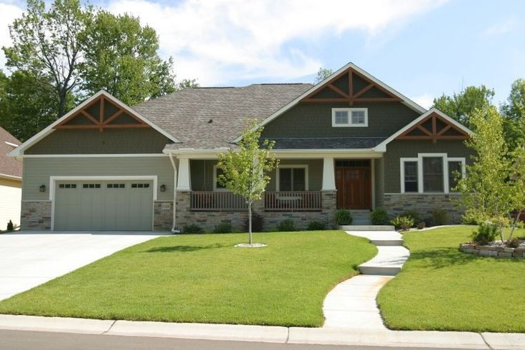 Home Exteriors From Custom Home Builder Maple Grove Homes And Photos