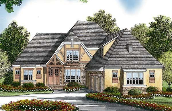 Cottage European House Plan 85479