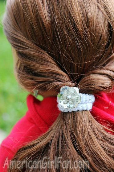easy sporty doll hairstyle | American Girl Dolls | Pinterest