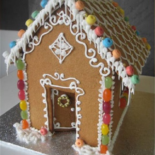 Gorgeous gingerbread house inspiration   Cooking   Pinterest