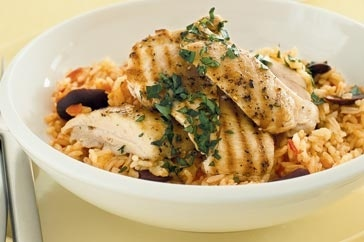Chicken with tomato pilaf | Healthy recipes | Pinterest