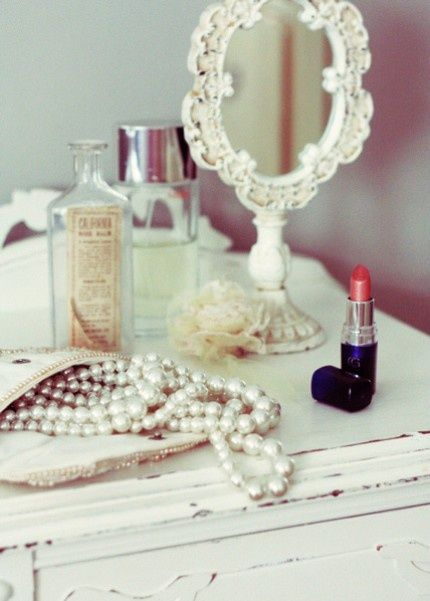 I love the time while I'm alone...getting ready... and I can just be GIRLY.