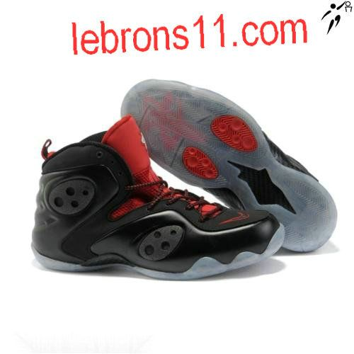 Nike Girls Zoom Rookie Black Red White Women Shoes