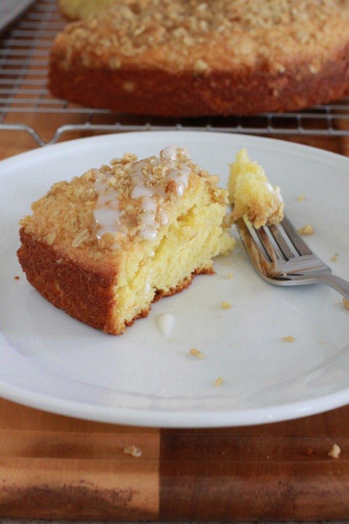 Yogurt Streusel Coffee Cake | foozles | Pinterest