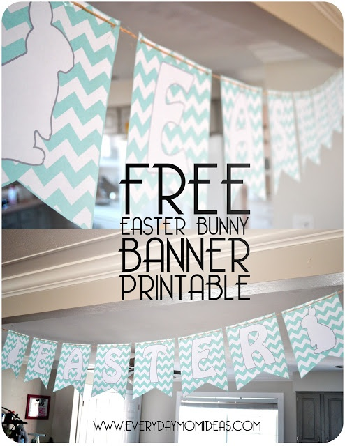 Quick Decorating Ideas Prepossessing Of Chevron Free Printable Easter Bunny Pictures
