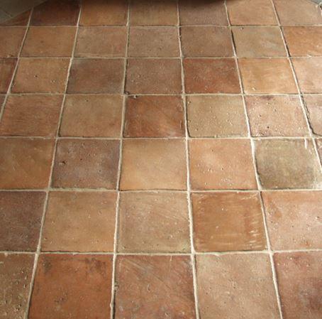 Antique Terra Cotta Tiles Perfect With Radiant Floor Heat