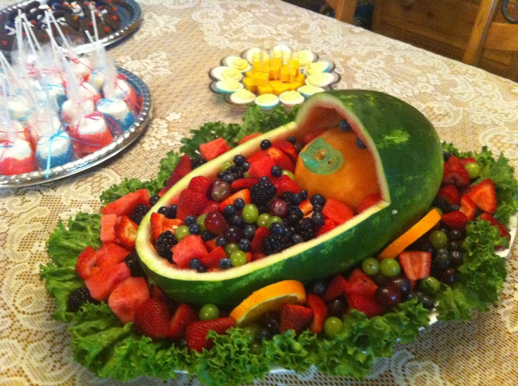 best fruit tray for a baby shower i can do this pinterest