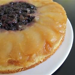 Plum Blueberry Upside Down Cake Allrecipes.com
