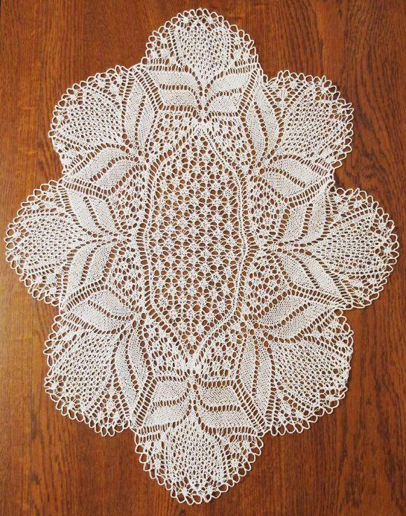 3 knit doily patterns... Knitting to Knit! Pinterest
