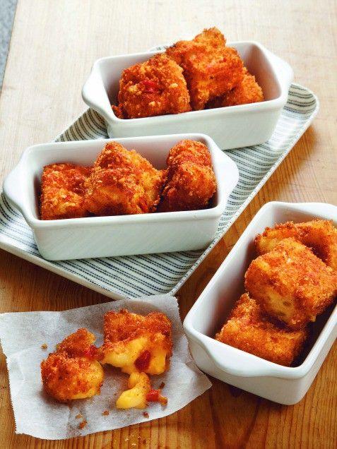 Macaroni-and-Pimiento Cheese Bites | Recipe