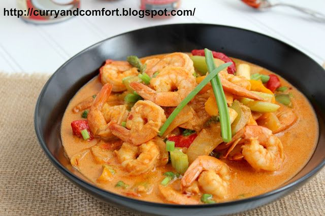 Red Curry Shrimp | Made: Seafood. | Pinterest