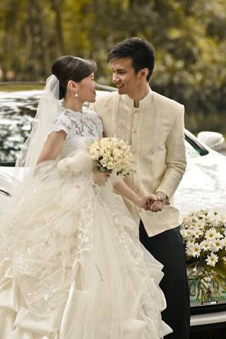 Photos by bremont studios wedding articles for Barong tagalog wedding dress