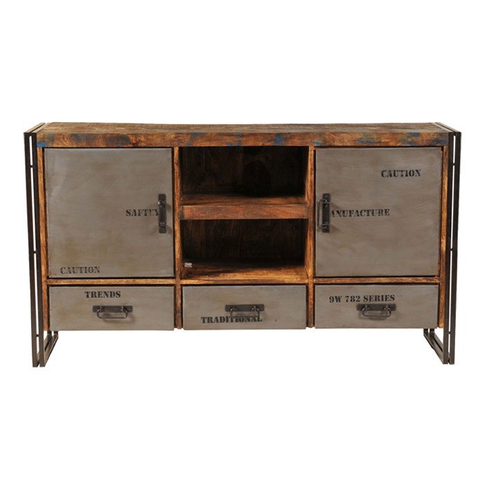 Addison Media Console Raw Wood Furniture Pinterest