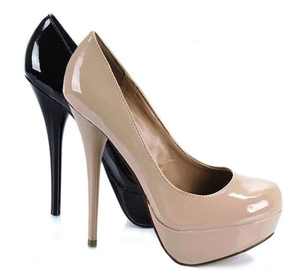 HOW TO REMOVE SCUFF MARKS off of patent leather heels** -put non