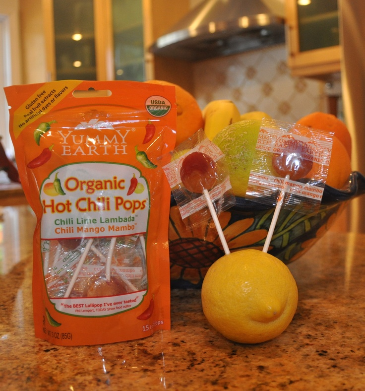 Is your dad HOT? Get him YummyEarth Organic Hot Chili Pops for Father ...