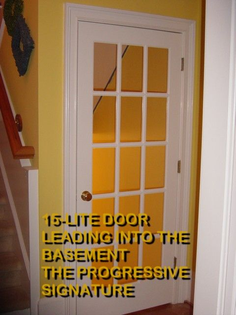 french door leading to basement house stuff pinterest