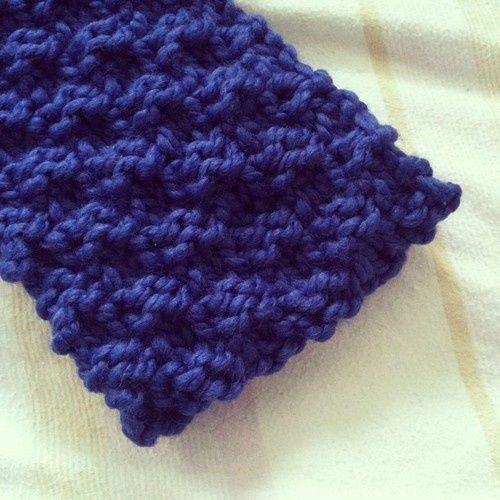 Simple Knit Headband Pattern : Easy Chunky Knit Headband Kollabora Knit Pinterest