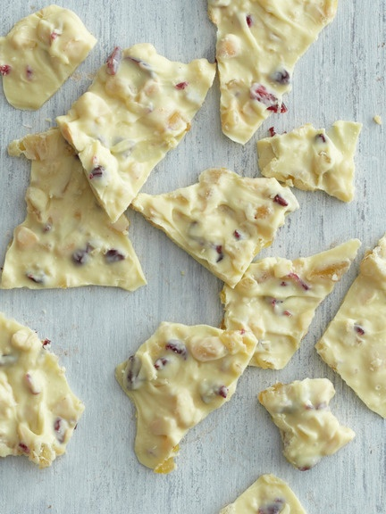 White Chocolate Cranberry Bark | Dandy Candy | Pinterest