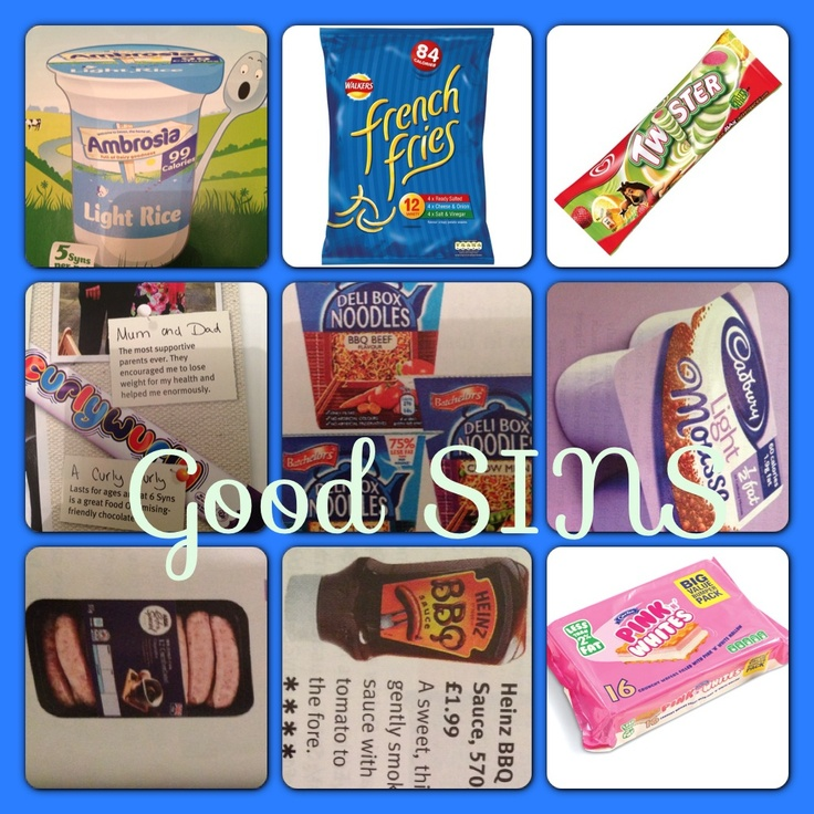 Good Sins Slimming World Food Pinterest