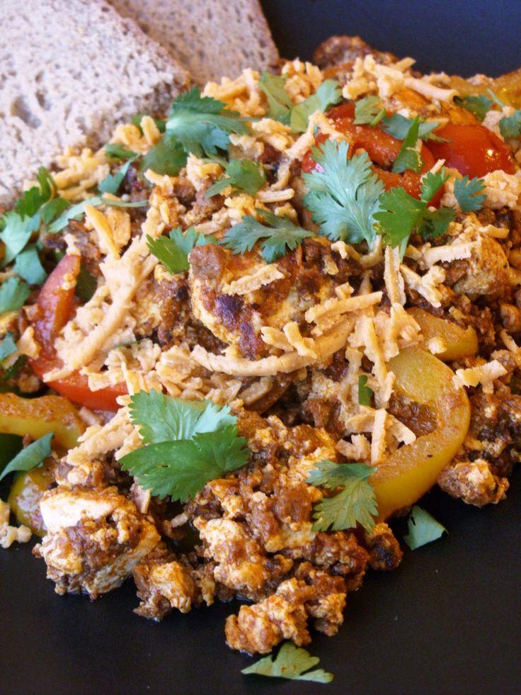 Mexican Tofu Scramble Recipe — Dishmaps