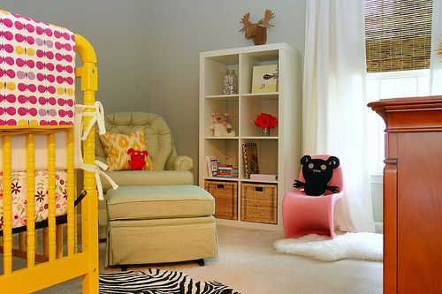 @Allison Lowe's adorable girl's nursery, designed by @AB Chao