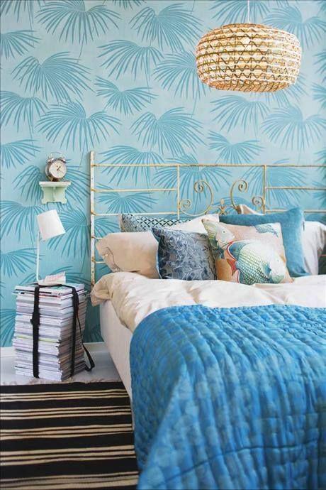 Quer um pouco de vida e natureza no quarto? Que tal investir numa #decoração assim? #primavera #decor