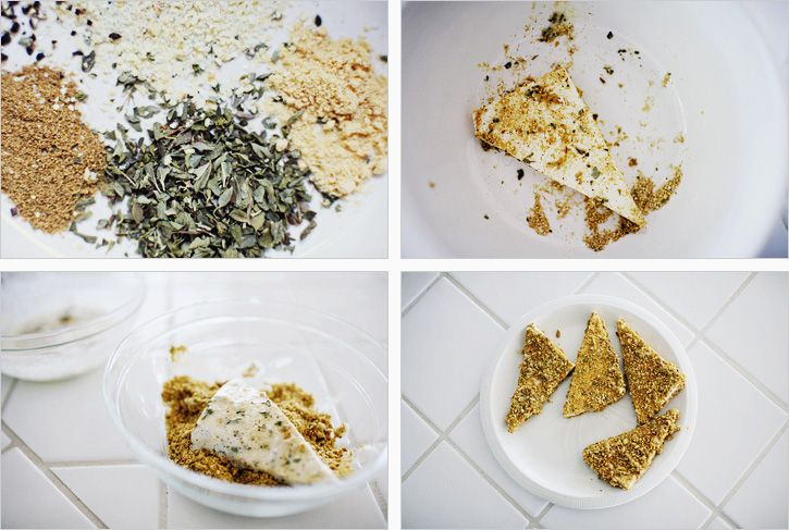 PISTACHIO CRUSTED TOFU SALAD | Recipes | Pinterest