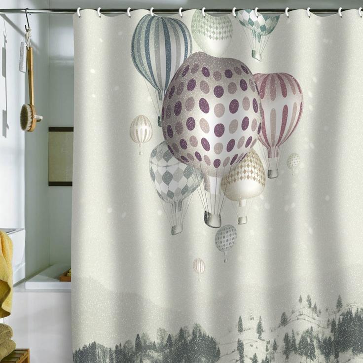 Belle13 winter dreamflight shower curtain kathy dragani i finally