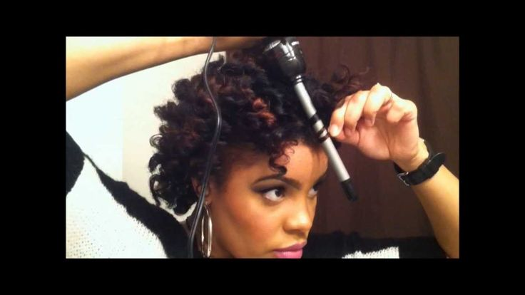 HD wallpapers short hair curls with wand