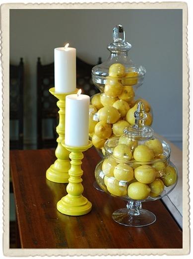 Tropical Lemon Decor Decorate Pinterest