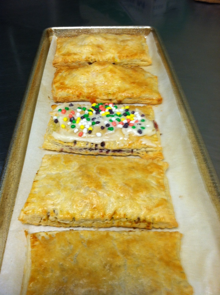 homemade pop tarts.....and yes, that is Nerds frosting!