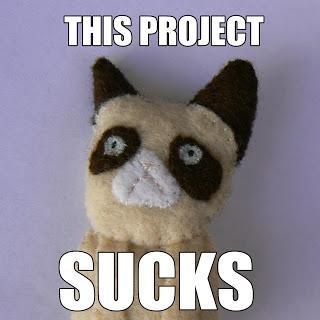 DIY Grumpy Cat Brooch tutorial #grumpycat