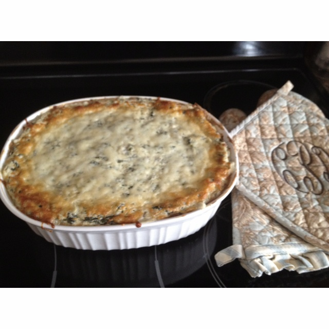 The BEST Spinach Artichoke Dip: 4 packages of cream cheese at room ...