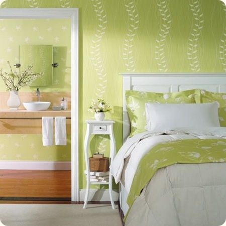 lime green and white bedroom bedrooms pinterest