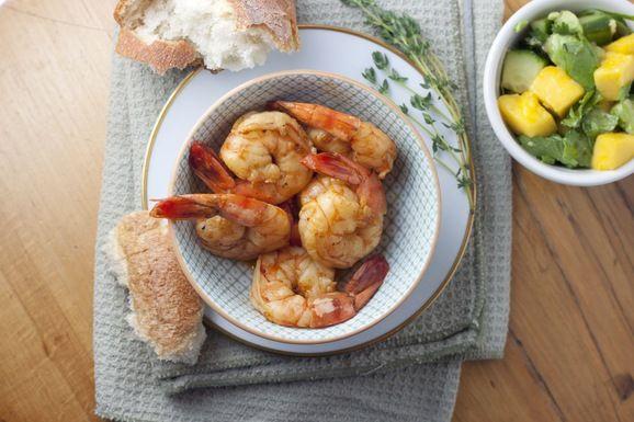 Flamin' Cajun Shrimp   Recipe