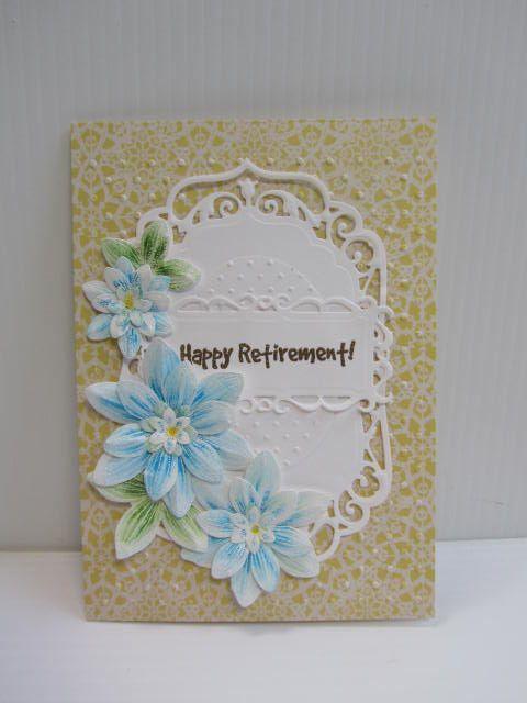 Happy Retirement   My Cards   Pinterest