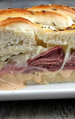 Reuben Bread | Recipe