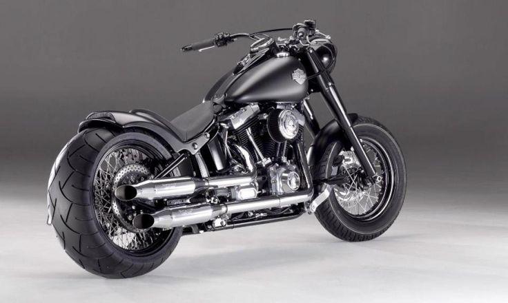 Harley-davidson softail cvo 110 custom bike