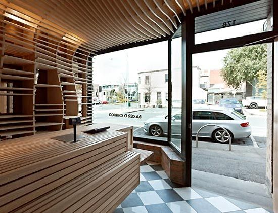 Small basket bakery shop interior design restaurant for Bakery shop interior decoration