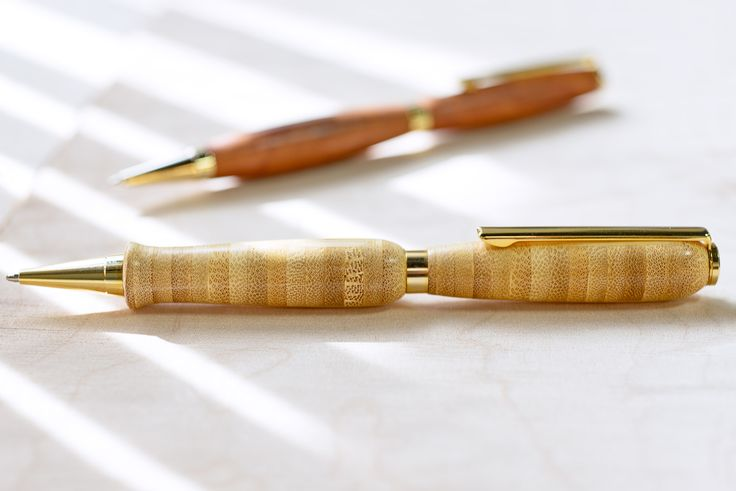 ... Class: Slim pens turned by George Jungerman at Woodcraft, Colorado