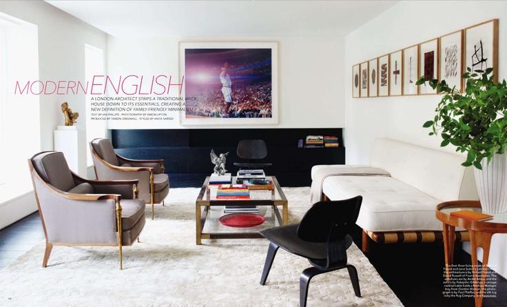 Elle Decor Living Rooms Glamorous Design Inspiration