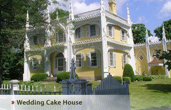 the wedding cake house kennebunkport new england maine pinterest